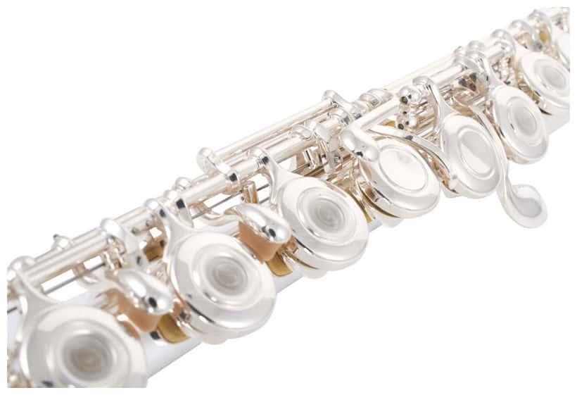 H-Fuß offenen Klappen NEU SYMPHONIE Querflöte// Flöte mit Ringklappen
